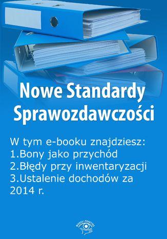 Okładka książki Nowe Standardy Sprawozdawczości , wydanie styczeń 2014 r. część I