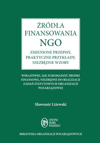 Okładka książki/ebooka Źródła finansowania NGO