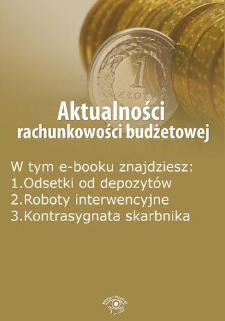 Aktualności rachunkowości budżetowej, wydanie maj 2015 r