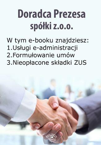 Doradca Prezesa spółki z o.o., wydanie marzec-kwiecień 2015 r