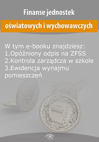 Finanse jednostek oświatowych i wychowawczych, wydanie sierpień 2015 r