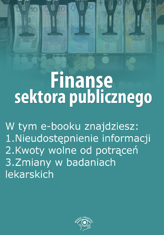 Finanse sektora publicznego, wydanie marzec 2015 r