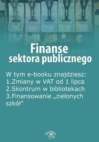 Finanse sektora publicznego, wydanie lipiec 2015 r