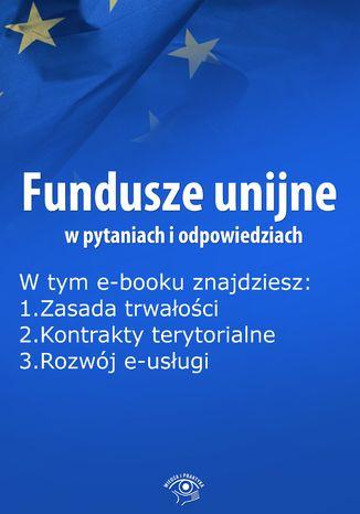 Fundusze unijne w pytaniach i odpowiedziach, wydanie luty 2015 r