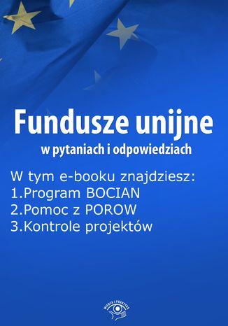 Fundusze unijne w pytaniach i odpowiedziach, wydanie marzec 2015 r