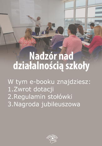 Nadzór nad działalnością szkoły, wydanie kwiecień-maj 2015 r