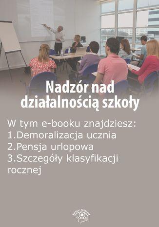 Nadzór nad działalnością szkoły, wydanie czerwiec 2015 r