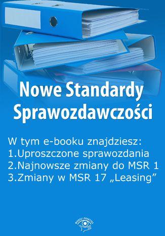 Okładka książki Nowe Standardy Sprawozdawczości , wydanie maj 2015 r. część I