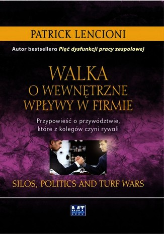 Okładka książki/ebooka Walka o wewnętrzne wpływy w firmie