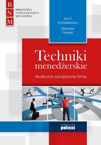 Okładka książki Techniki menedżerskie