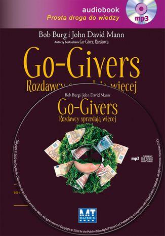 Okładka książki/ebooka Go-Givers rozdawcy sprzedają więcej