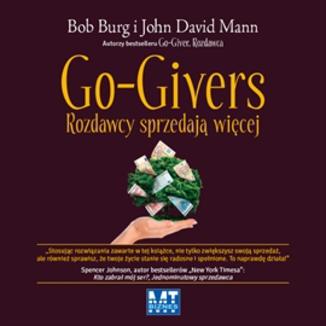 Okładka książki Go-Givers rozdawcy sprzedają więcej