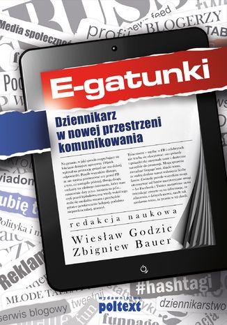 Okładka książki E-gatunki dziennikarskie