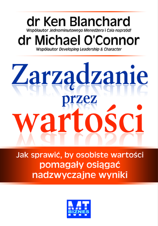 Okładka książki Zarządzanie przez wartości