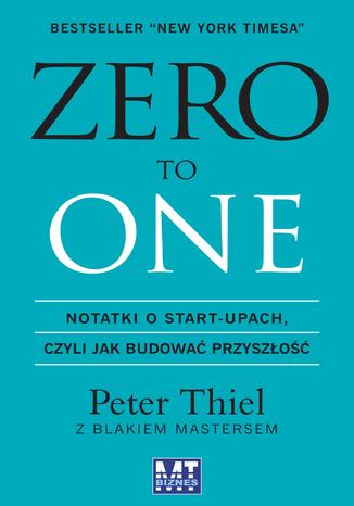 Okładka książki Zero to One