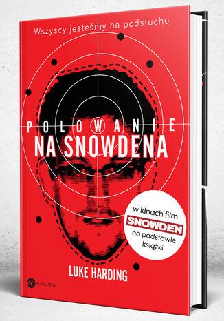 Okładka książki/ebooka Polowanie na Snowdena