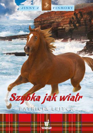 Okładka książki Jinny z Finmory (Tom 8). Szybka jak wiatr