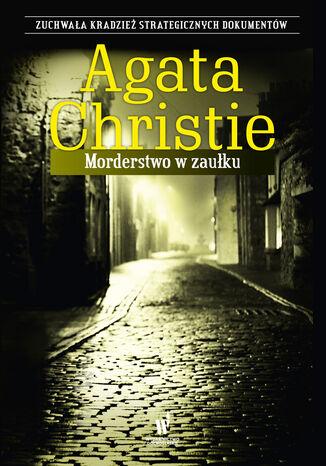 Okładka książki Morderstwo w zaułku