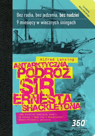 Okładka książki/ebooka Antarktyczna podróż sir Ernesta Shackletona