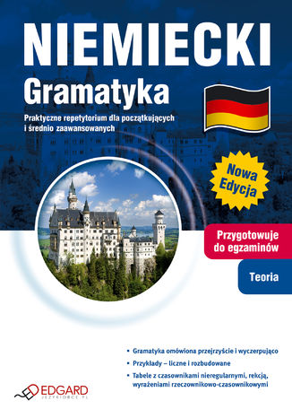 Okładka książki/ebooka Niemiecki Gramatyka. Praktyczne repetytorium dla początkujących i średnio zaawansowanych