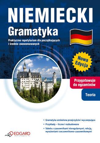 Okładka książki Niemiecki Gramatyka. Praktyczne repetytorium dla początkujących i średnio zaawansowanych