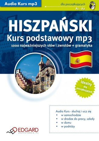 Okładka książki/ebooka Hiszpański Kurs podstawowy