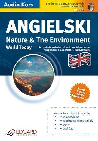 Okładka książki/ebooka Angielski World Today Nature and The Environment