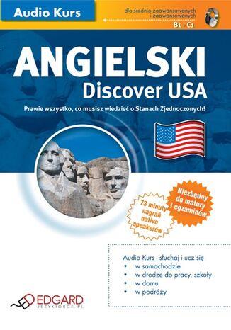 Okładka książki/ebooka Angielski - Discover USA