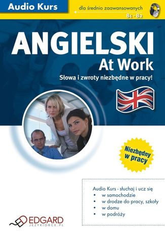 Okładka książki/ebooka Angielski At Work