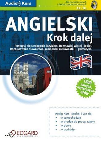 Okładka książki/ebooka Angielski. Krok dalej