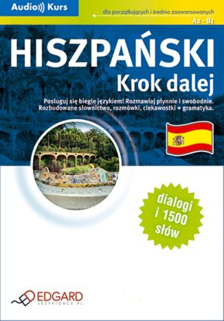 Okładka książki/ebooka Hiszpański. Krok dalej