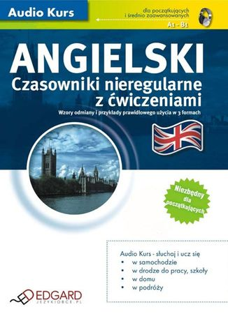 Okładka książki/ebooka Angielski Czasowniki nieregularne