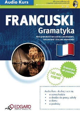 Okładka książki/ebooka Francuski Gramatyka