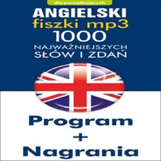 Okładka książki Angielski Fiszki mp3 1000 najważniejszych słów i zdań