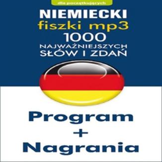 Okładka książki Niemiecki Fiszki mp3 1000 najważniejszych słów i zdań