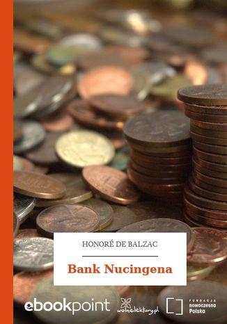 Okładka książki Bank Nucingena