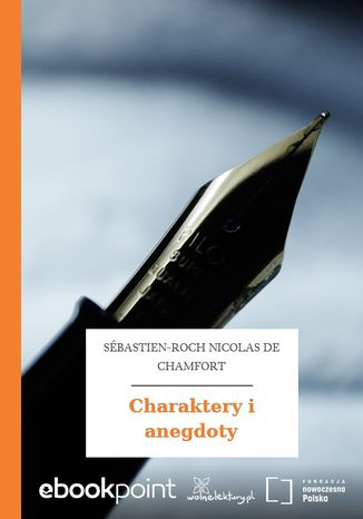 Okładka książki/ebooka Charaktery i anegdoty