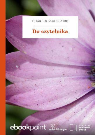 Okładka książki/ebooka Do czytelnika
