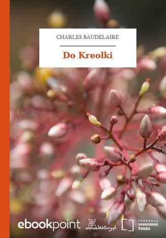 Okładka książki Do Kreolki