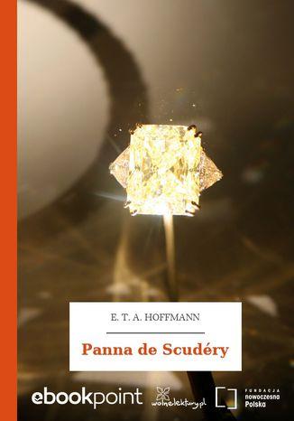 Okładka książki Panna de Scudéry