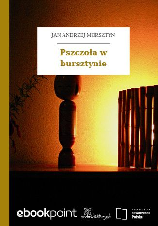 Okładka książki Pszczoła w bursztynie