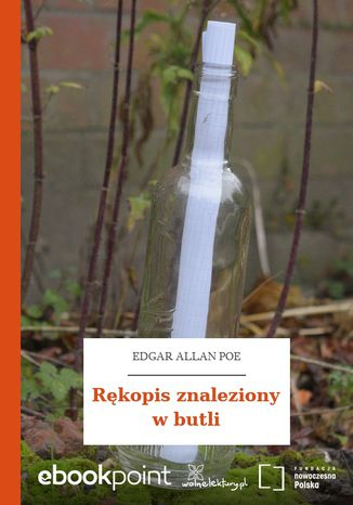 Okładka książki Rękopis znaleziony w butli