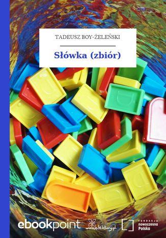 Okładka książki Słówka (zbiór)