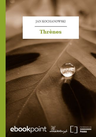 Okładka książki Thrnes