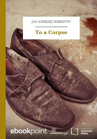 Okładka książki To a Corpse