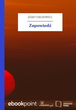 Okładka książki/ebooka Zapowiedź