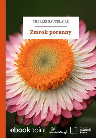 Okładka książki/ebooka Zmrok poranny