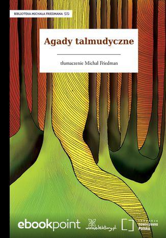 Okładka książki Agady talmudyczne
