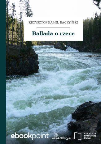 Okładka książki Ballada o rzece