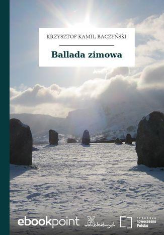 Okładka książki Ballada zimowa
